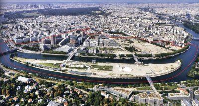 Photo prise en 2011 Connaissance des Arts, Paris, la métropole et ses projets.