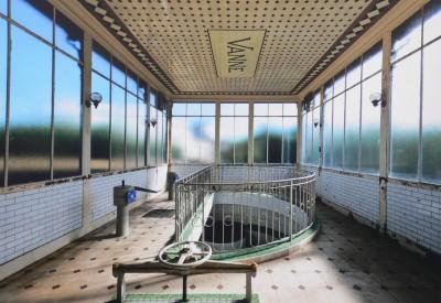 Intérieur de la lanterne centrale (Cliché Eau de Paris et Denis Wolff)