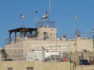 La judéisation de Jérusalem Est (Cliché Maryse Verfaillie, novembre 2015)