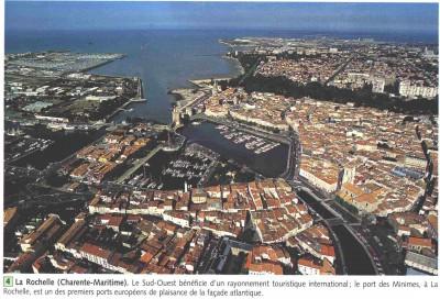 La Rochelle (Charente-Maritime) : le Sud-Ouest bénéficie d'un rayonnement touristique international : le port des Minimes à La Rochelle est un des premiers ports européens de plaisance de la façade atlantique.