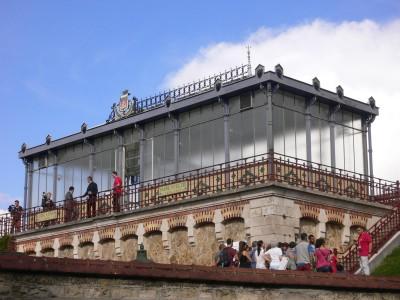 Lanterne principale du réservoir de Montsouris (Cliché Denis Wolff)