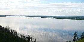 La Lena près de Iakoutsk