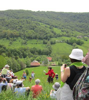 Marie-Hélène Lafon lit des extraits de son œuvre dans le cadre des Journées littéraires 2013 organisées dans les Bauges  par la Facim (Fondation action culturelle internationale en montagne)