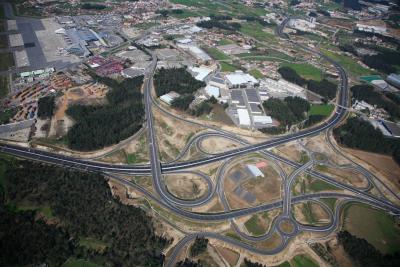 Maillage routier dans la région de Porto. Source : José Alberto Rio Fernandes