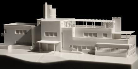 Maquette de la villa Cavrois, Robert Mallet-Stevens, 1929-1932 (Cité de l'architecture et du patrimoine)