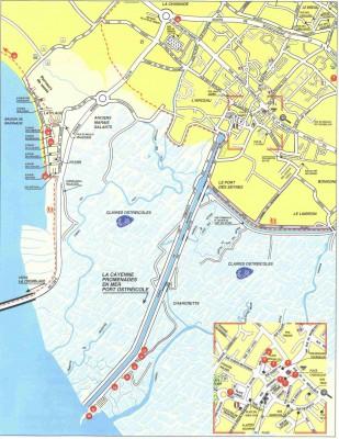 Plan de Marennes-La Cayenne
