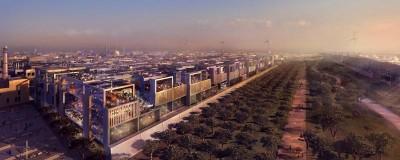 Projet de la ville verte de Masdar City (Émirats Arabes Unis) source: www.franceinter.fr