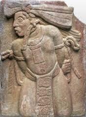 Monument 154 de Tonina (Chiapas, Mexique, classique récent)