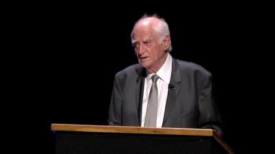 Le philosophe Michel Serres (Sourc:e http://www.culturebox.francetvinfo.fr)