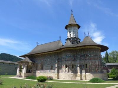 Le monastère de Sucevita en Bucovine (cliché Daniel Oster, juin 2015)