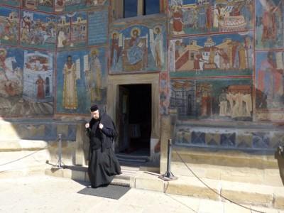 Le monastère de Voronet en Bucovine (cliché Daniel Oster, juin 2015)