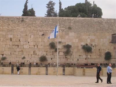 Le mur des Lamentations à Jérusalem (Cliché Maryse Verfaillie, novembre 2015)
