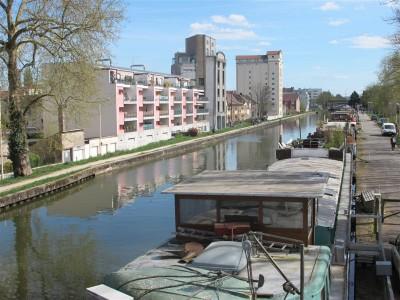 Canal de la Marne au Rhin dans Nancy