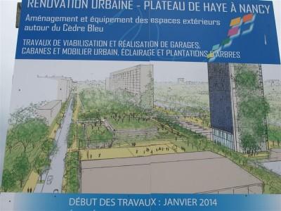 Rénovation urbaine Plateau de Haye