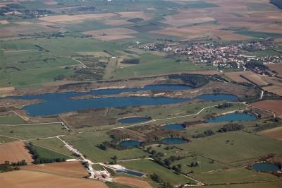 Fig. 10 – Les effondrements du plateau de Haraucourt (2008)