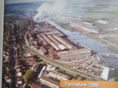Site de Pompey en 1986 (date de la fermeture)