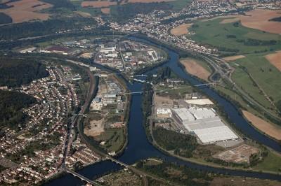 Fig. 13 – Le site de Pompey requalifié en 2008 (Parc d'activités de Nancy-Nord)