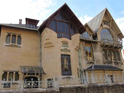 Henri Sauvage a construit la villa Majorelle en 1901-02