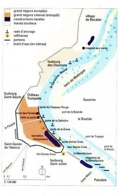 Le négoce à Bordeaux au XVIII è Atlas historique de France