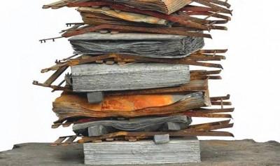 Nigredo (détail) 1998, plomb, acier, fil métallique, huile, sel, plâtre, résine, acrylique et pastel 320 x 160 x 100 cm Courtesy White Cube © Photo Ben Westoby