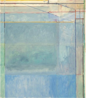 Richard Diebenkorn, Ocean Park # 60 -1973- Buffalo, New York, Albright Knox Art Gallery