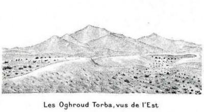 Les grandes dunes de l'erg d'Oghourd, au sud d'Ouargla.