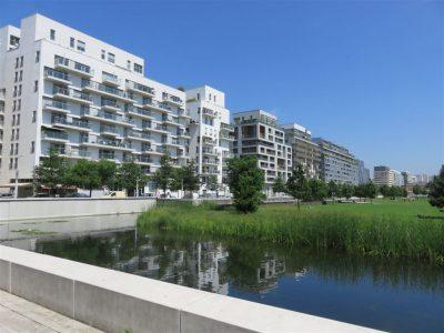 Le parc de Billancourt. Cliché, Maryse Verfaillie