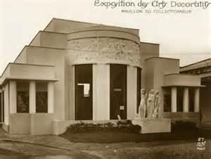 Le pavillon du Collectionneur édifié par Pierre Patout pour l'Exposition de 1925