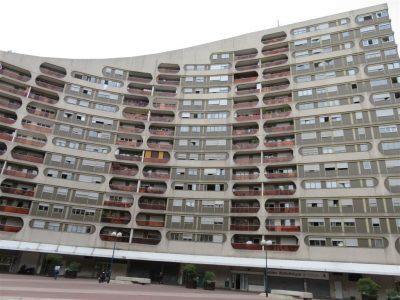 Place Haute, urbanisme sur dalle des années 1970. Cliché, Maryse Verfaillie
