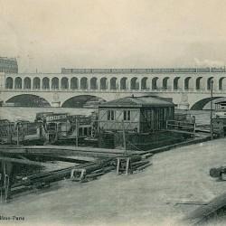 Pont-viaduc d'Auteuil, 1900 (Source : Wikipédia)