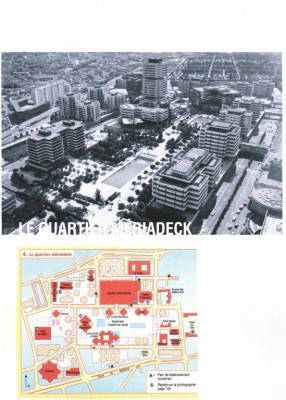Plan du Quartier Mériadeck