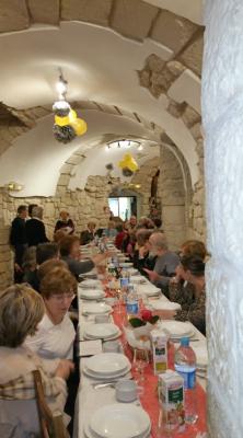 Repas polonais dans la crypte de la Mission polonaise en France Samedi 19 novembre 2016