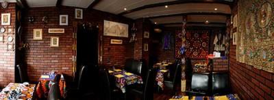 Le restaurant, photographie Jean-Pierre Némirowsky