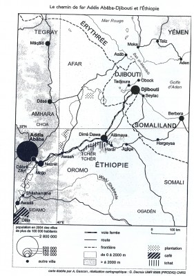 Le chemin de fer Addis Abäba- Djibouti