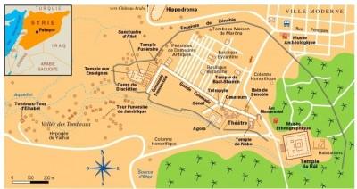 Le site de Palmyre (www.syrievoyage.fr)