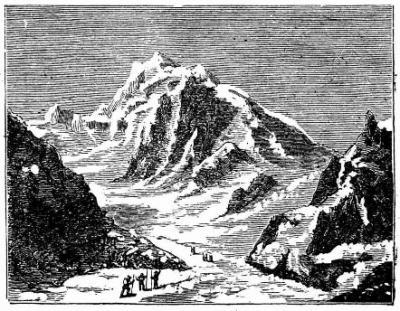 Le Mont Blanc et la Mer de Glace (p. 85) (collection Roland Courtot)
