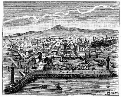 Marseille et son port (p.185) (collection Roland Courtot)