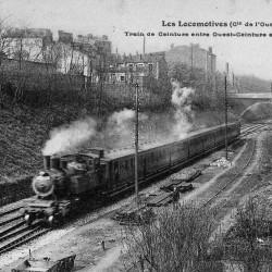 Train de voyageurs, avant 1914 (Source : Wikipédia)