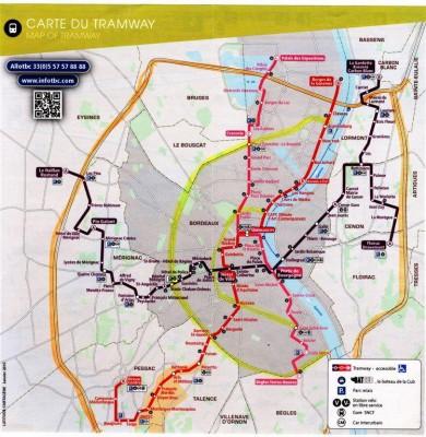Les transports dans Bordeaux métropole