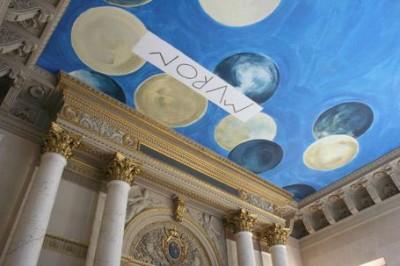 Cy Twombly, The Ceiling -2010- un plafond bleu Giotto pour le Louvre