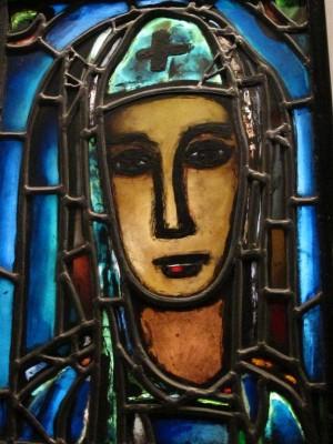 Véronique, vers 1948. Georges Rouault / Atelier Bony Église Notre-Dame-de Toute Grâce du plateau d'Assy