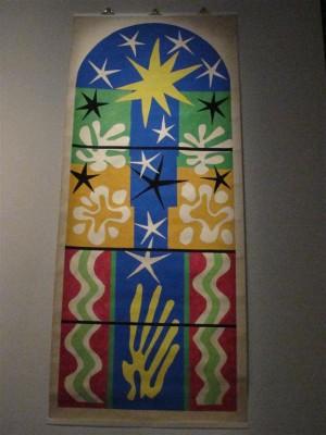 Nuit de Noël, 1952 Henri Matisse / Atelier Bony Rockefeller Centre, Immeuble Life, New York