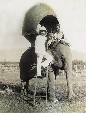 Alexandre Yersin en Indochine française (photo transmise par Stéphane Kleeb)